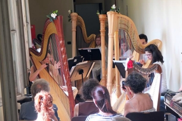 Conservatorio - harp ensemble